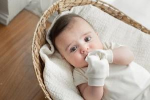 Baby Scratch Mittens