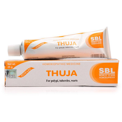 Sbl Thuja Ointment 570 2 400 Natura Right