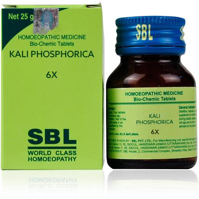 Sbl Kali Phosphorica 6X 25G Natura Right