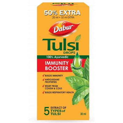 Natura Right Dabur Tulsi Drops 30ml