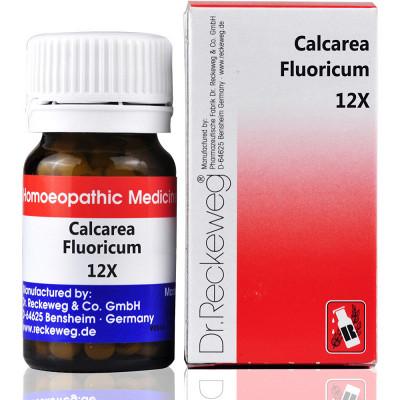 Dr Reckeweg Calcarea Fluoricum 12X 20G Natura Right