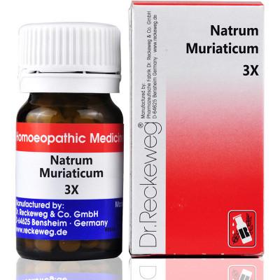 Dr Reckeweg Natrum Muriaticum 3X 20G Natura Right