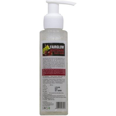 Medilexicon Fairglow Whitening Facewash 30Ml Natura Right