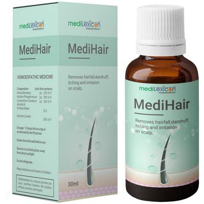Medilexicon Medihair Drops 30Ml Natura Right