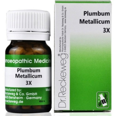 Plumbum Metallicum 3 X