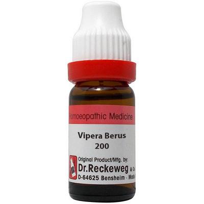Dr Reckeweg Vipera Berus 200 Ch 11Ml Natura Right