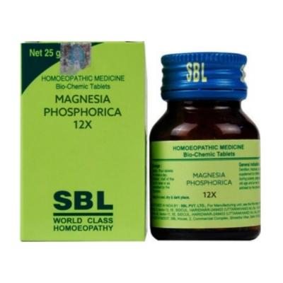 Sbl Magnesia Phosphoricum 12X 25G Natura Right