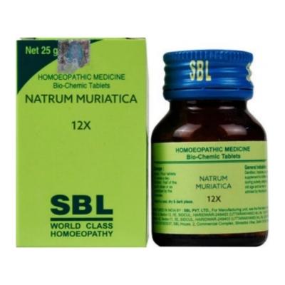 Sbl Natrum Muriaticum 12X 25G Natura Right