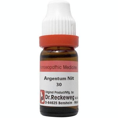 Dr Reckeweg Argentum Nitricum 30 Ch 11Ml Natura Right