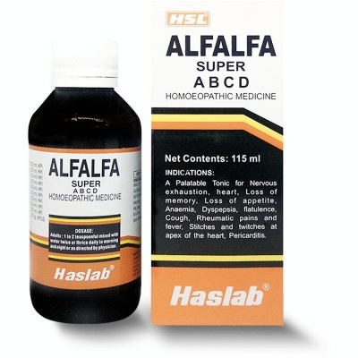 Haslab Alfalfa Super Tonic with Vitamin A B C D 200ml