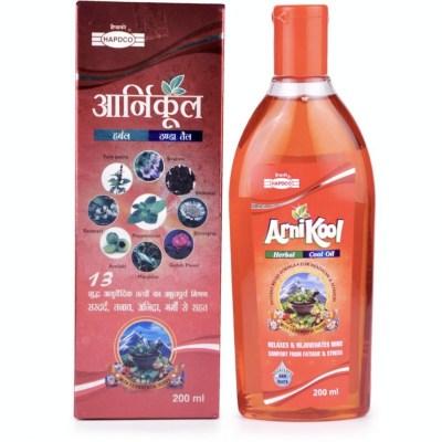 Hapdco Arnikool Hair Oil 200Ml Natura Right