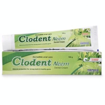 Hapdco Clodent Neem Dental Cream 100g