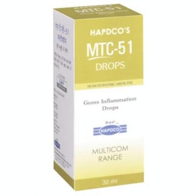 Hapdco MTC 51 Gums Inflammation Drops 30ml