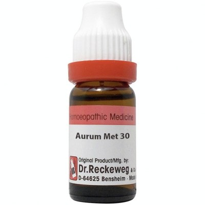 Dr Reckeweg Aurum Metallicum 30 Ch 11Ml Natura Right