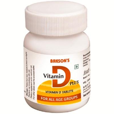 Bakson Vitamin D Plus Tablets