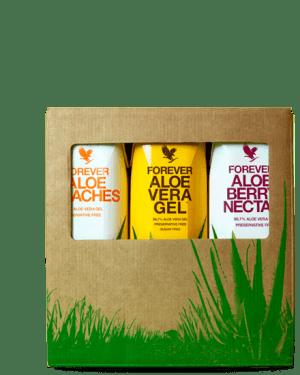 pack 3 boissons aloe vera mini forever living