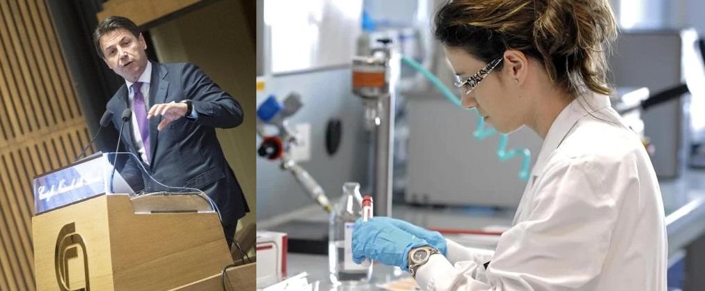 finanziamenti-ricerca-italiana-national-research-agency-giuseppe-conte-primo-ministro-italiano-parlamento-italiano