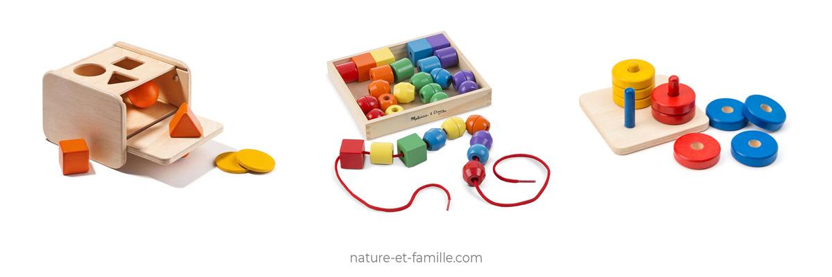 activités motricité fine Montessori nature-et-famille