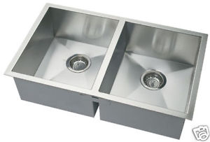square kitchen sink trailer under mounted stainless steel nature fusion