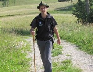 Julien accompagnateur en montagne