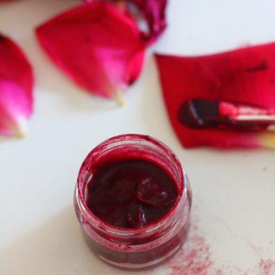 Masque hibiscus et rose