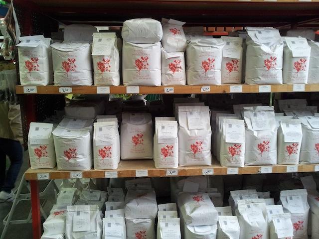variétés de farines disponibles pour faire son pain