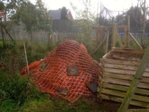 Le compost prêt à passer l'hiver