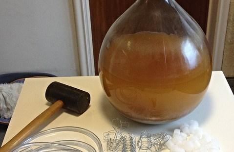 Préparation du cidre