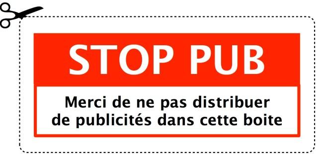 Dites STOP à la publicité. Aujourd'hui !