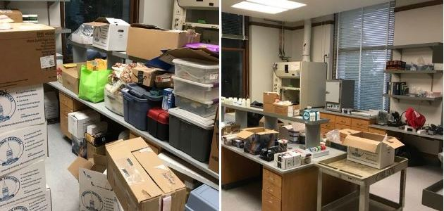 Carlson Lab moves to Wellman Hall!