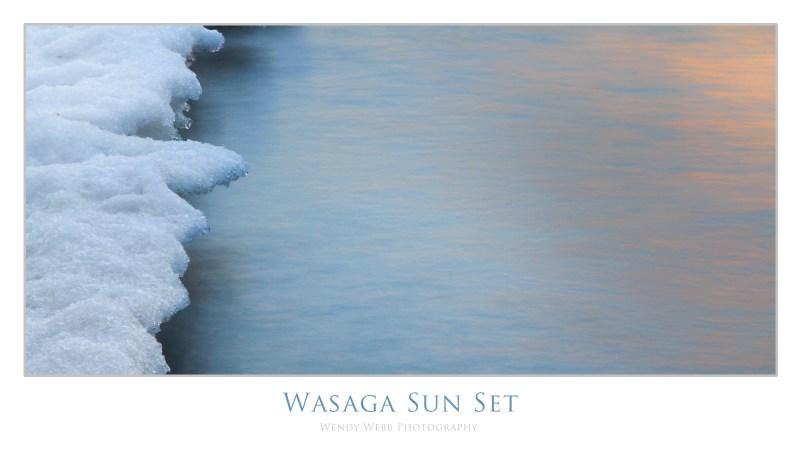 wasaga sun set