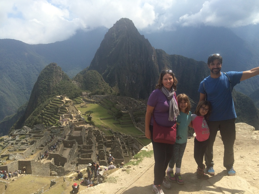 In front of Waynapicchu – or Young mountain