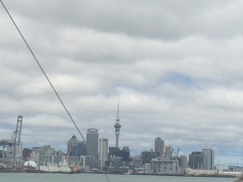 Auckland Central Business District. You can go from this....