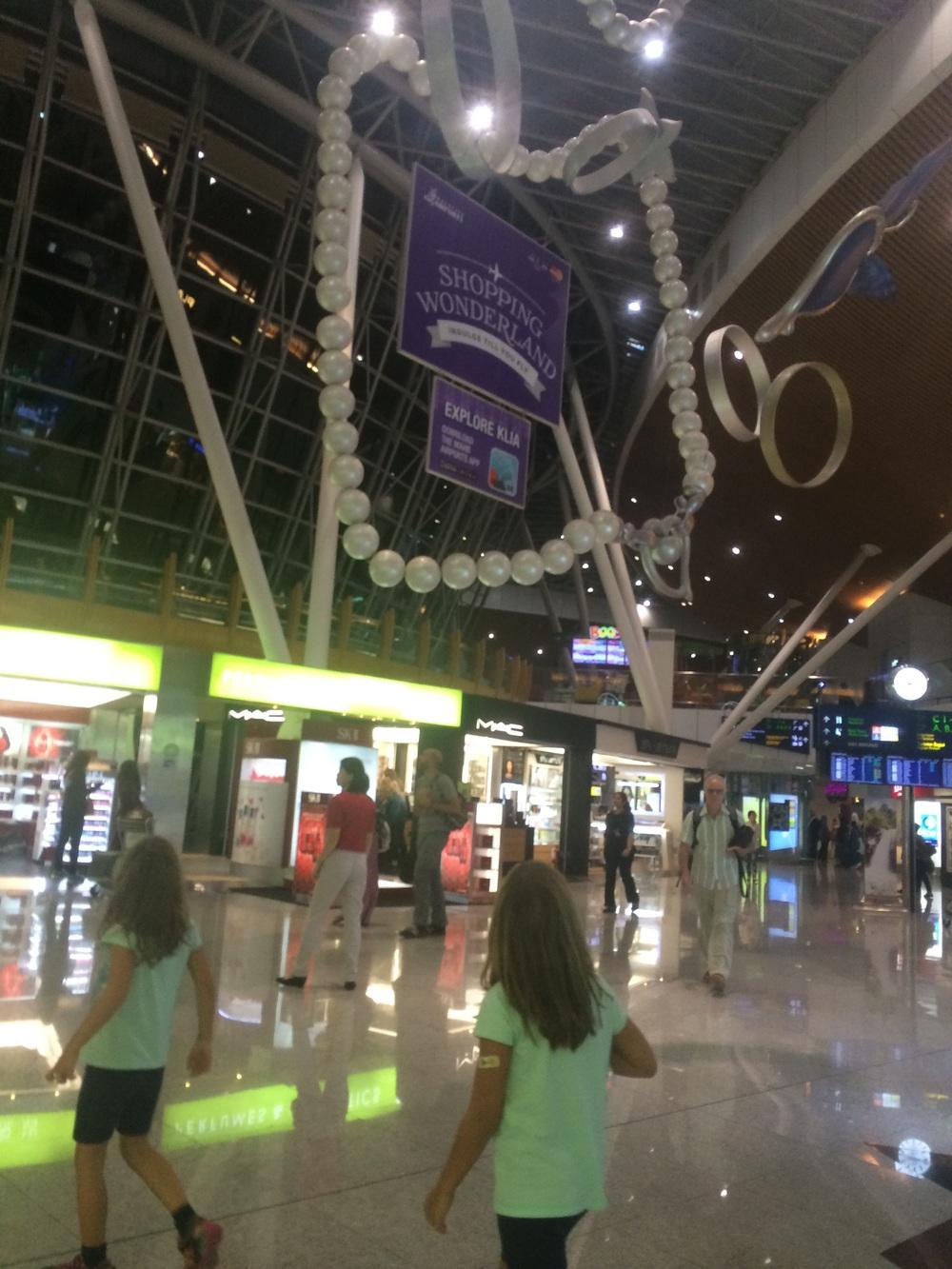 Suria KLCC shopping center.