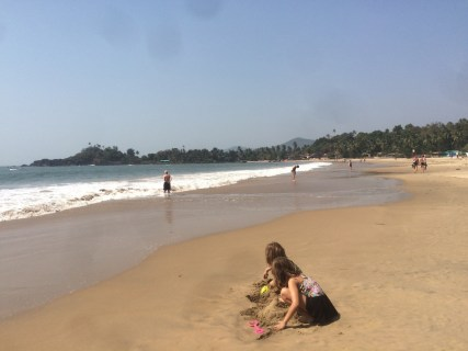 Beautiful Patnem beach