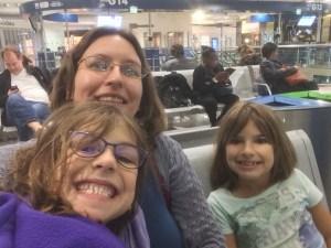 Sabrina Hannah Amy Airport