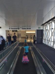 Amy airport walkway