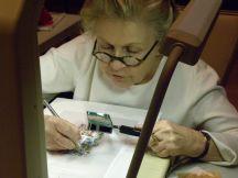 Carol Jean Rogalski at Nature Artists' Guild Presentation 4