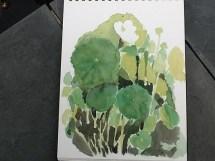 Connie Devendorf's artwork at Catherine Donovan's Garden