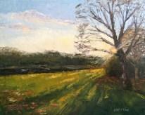 Last peeks of Sun, copyright Maggie Capettini