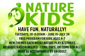 Nature Kids program | Have fun naturally! (free program) @ Nature At The Confluence Campus