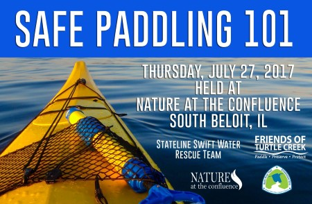 Safe Paddling 101 with Stateline Swift Water Rescue Team @ Nature At The Confluence Campus