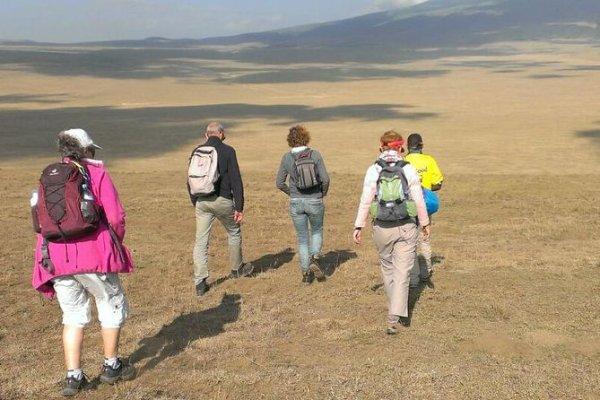 Ngorongoro Crater highlands trek5