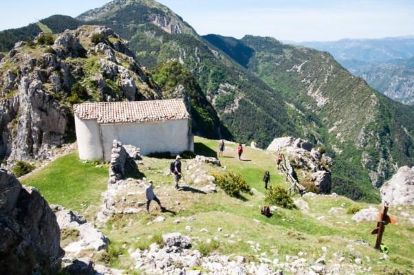 Vue sur la chapelle Saint-Michel