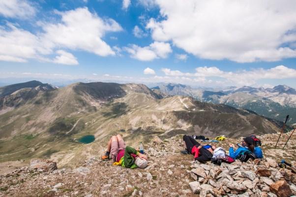 Sieste sur le Mont Pépoiri