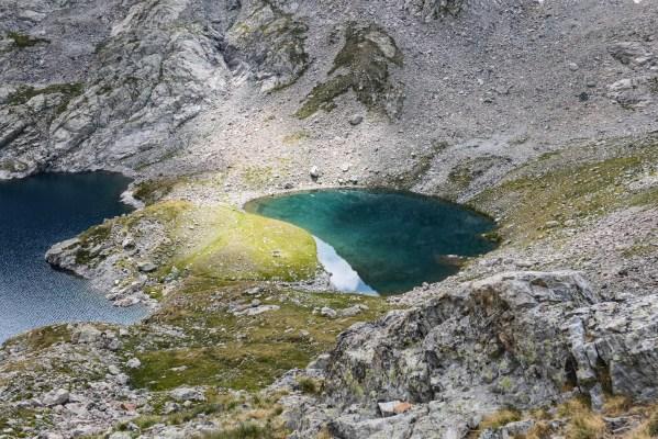 Lac de l'Agnel - Petit Lac