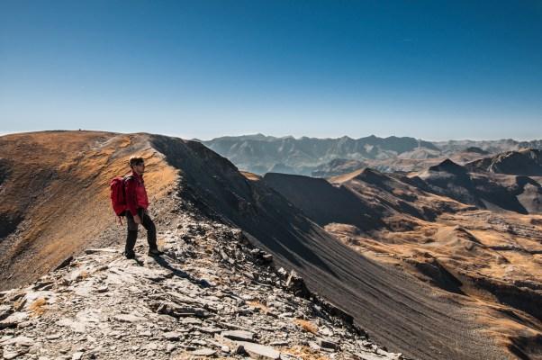Vue du mont Mounier