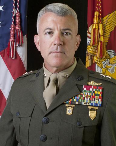 Major General Hartsell, USMC