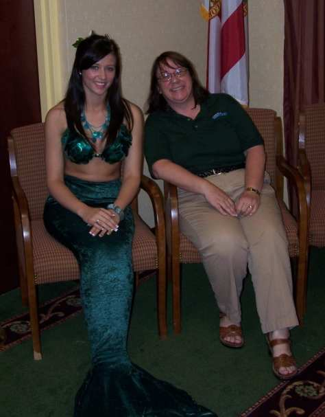 As part of Travelhost of the Nature Coast, we held Tourism Talks to bring area tourism related businesses together. We enjoyed mermaid participation in this year.