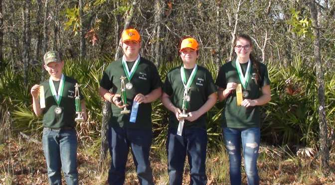 Citrus County Shooting Sports 4-H Team placed at State Match